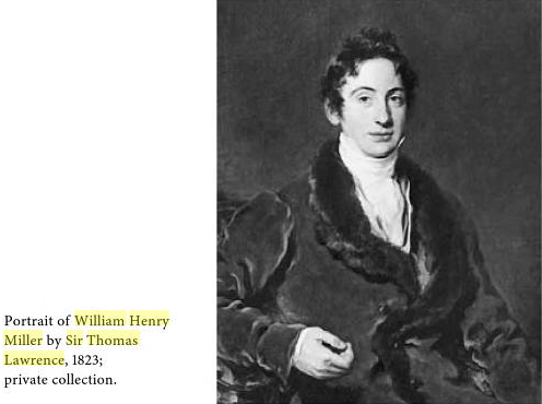 The real William Henry Miller.