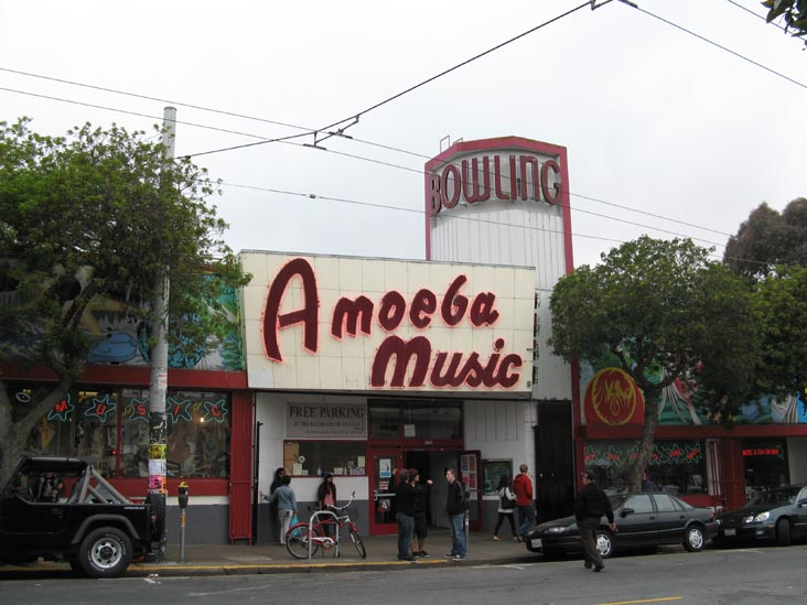 Amoeba Music, 1855 Haight Street, San Francisco, CA 94117, United States
