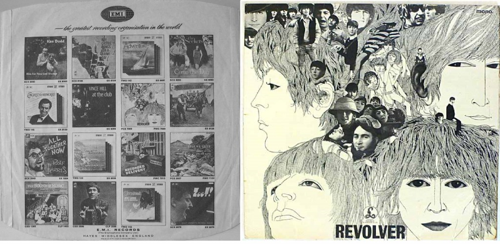 Check out the inner sleeve advertisements!