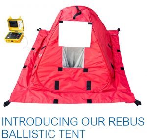 REALLY get to know the author in the new bomb proof Rebus Tent