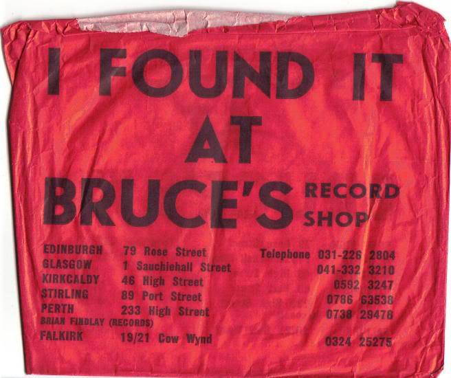 Bruce's classic red singles bag